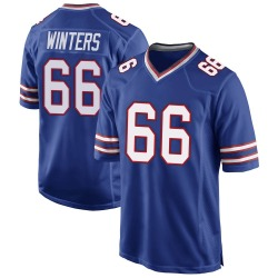 Nike Brian Winters Buffalo Bills Men's Game Royal Blue Team Color Jersey