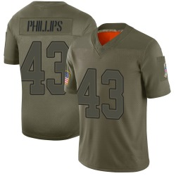 Nike Del'Shawn Phillips Buffalo Bills Men's Limited Camo 2019 Salute to Service Jersey