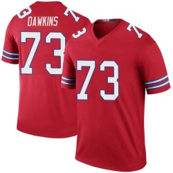 Nike Dion Dawkins Buffalo Bills Youth Legend Red Color Rush Jersey