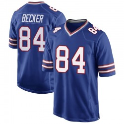 Nike Nate Becker Buffalo Bills Youth Game Royal Blue Team Color Jersey