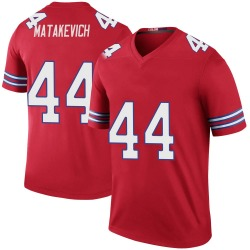 Nike Tyler Matakevich Buffalo Bills Youth Legend Red Color Rush Jersey