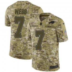 Nike Davis Webb Buffalo Bills Youth Limited Camo 2018 Salute to Service Jersey