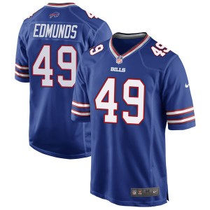 Nike Tremaine Edmunds Buffalo Bills Youth Game Royal Blue Team Color Jersey