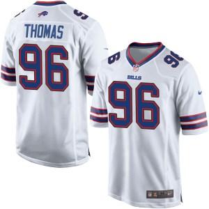 Nike Robert Thomas Buffalo Bills Men's Game White Jersey