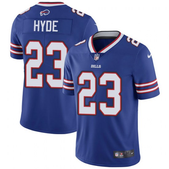 separation shoes cbc02 73ffb Big & Tall Nike Micah Hyde Buffalo Bills Men's Limited Royal Blue Team  Color Jersey